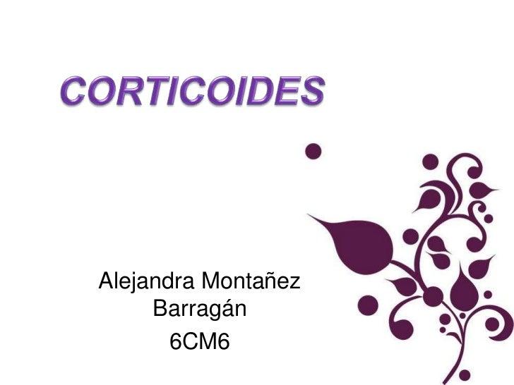 Alejandra Montañez     Barragán       6CM6