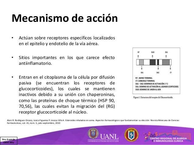 Corticosteroides II - Inhalados, oftálmicos y óticos
