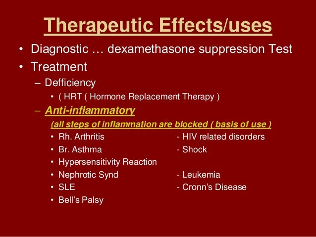 Pharmacology (Corticosteroids Lecture)