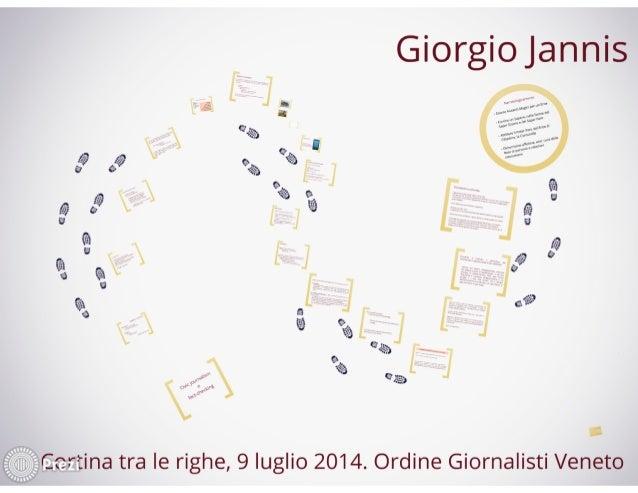 Civic journalism, per Ordine Giornalisti Veneto. Cortina, luglio 2014
