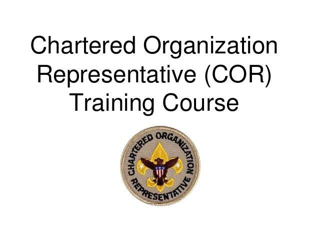 Cor Training Course Pgg 161108