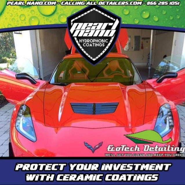 Corvette got Protected with Pearl Nano Pearl Nano Coating by EcoTech Detailing Certified Pearl Nano Coatings Installer - S...