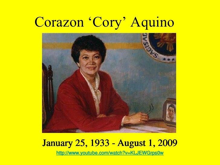 health program of cory aquino Rappler speaks to jeffrey consumo – former president cory aquino's art teacher from 1996 to 1998.