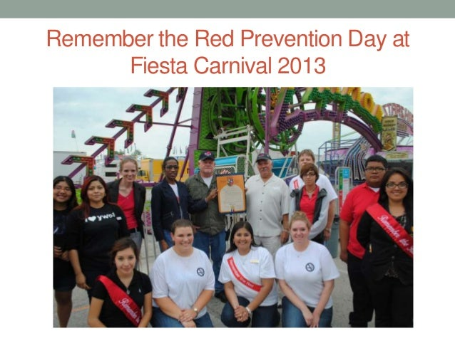 Remember the Red Prevention Day at Fiesta Carnival 2013