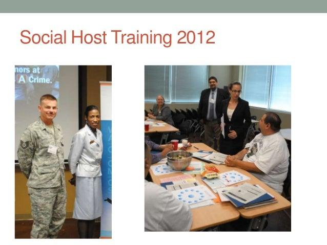 Social Host Training 2012