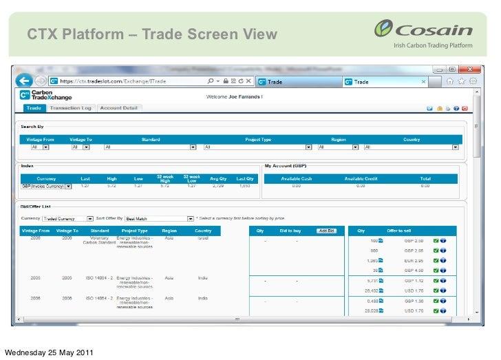 The carbon trade exchange forex как научиться торговать