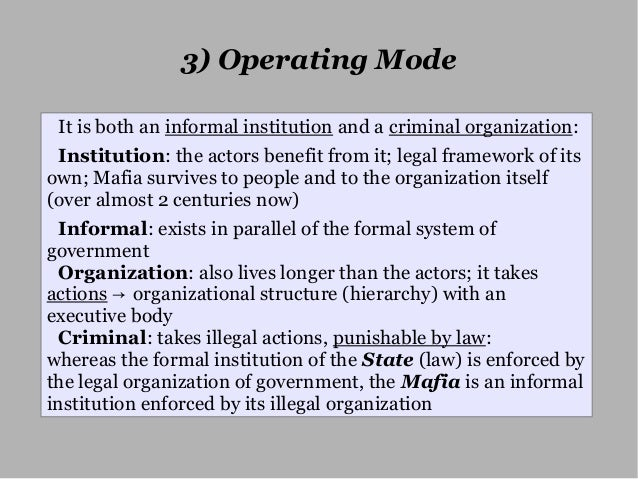 law and informal institutions Yet, in some cases the institutions lack legitimacy and public trust  professionalism – a vital informal institution that promotes trust in legal systems  and.