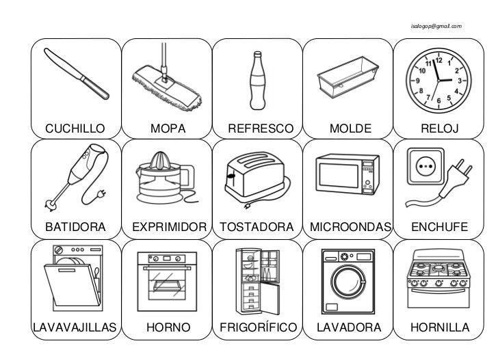 Cosas de la casa for Muebles de la casa en ingles
