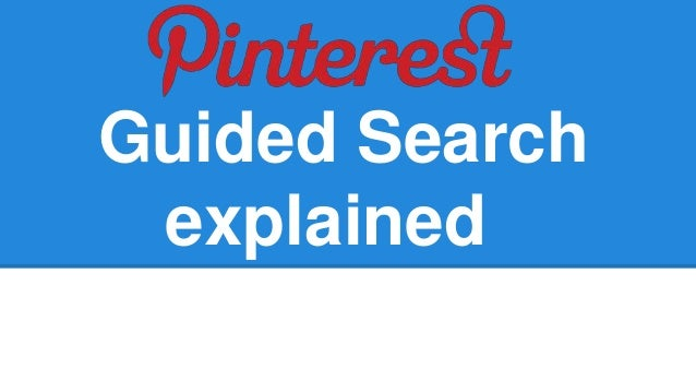 Guided Search explained