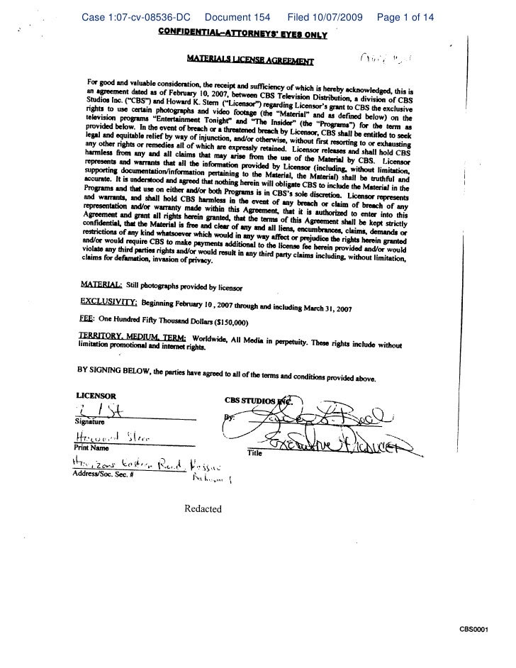 Case 1:07-cv-08536-DC   Document 154   Filed 10/07/2009   Page 1 of 14