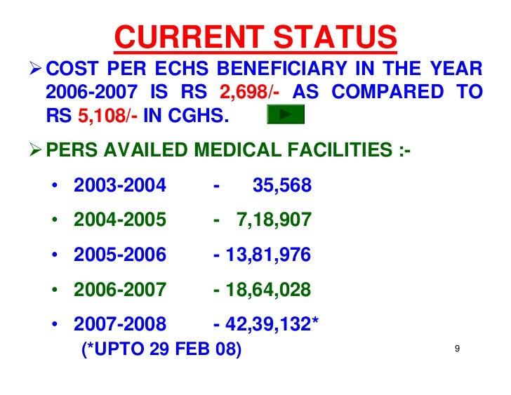 ECHS March Update on