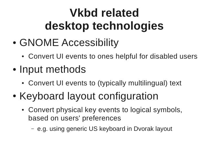 eekboard - a virtual keyboard for GNOME