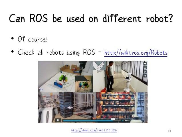 COSCUP 2016 - ROS + Gazebo機器人模擬器工作坊