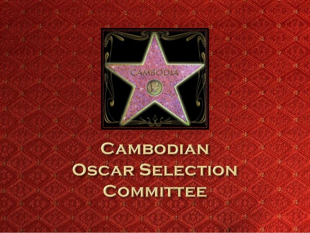 Developing Khmer Film Industry Fundraising Events Oscar Submission