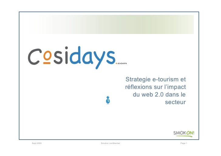 Strategie e-tourism et                                   réflexions sur l'impact                                      du w...