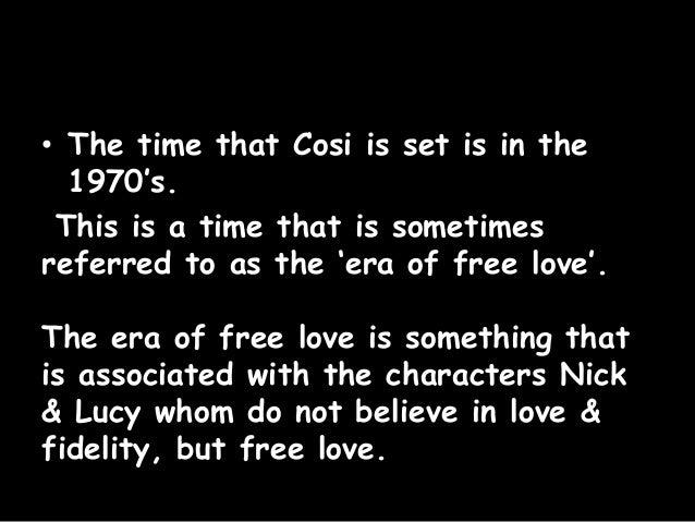 cosi love infidelity presentation 3 • louis nowra