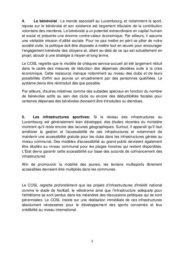 Document du COSL à l'intention des partis politiques  Slide 3