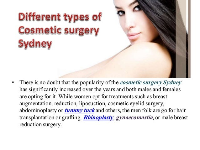 plastic surgery pros and cons list