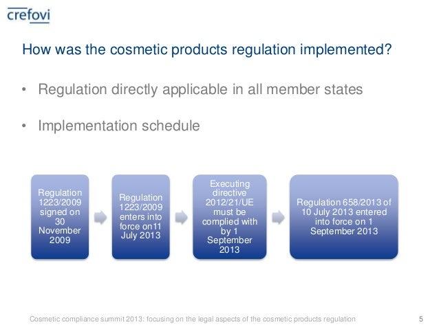 Cosmetic regulations - L'Oreal