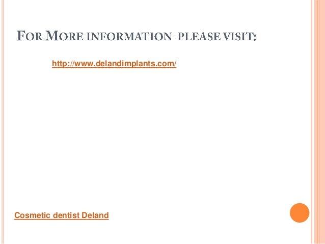 http://www.delandimplants.com/Cosmetic dentist Deland
