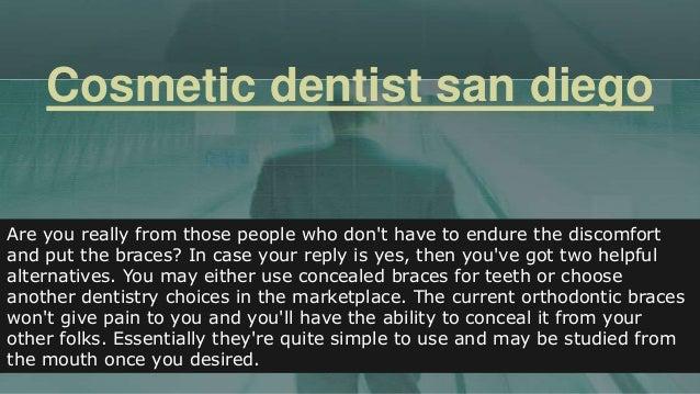 Cosmetic dentist san_diego Slide 2