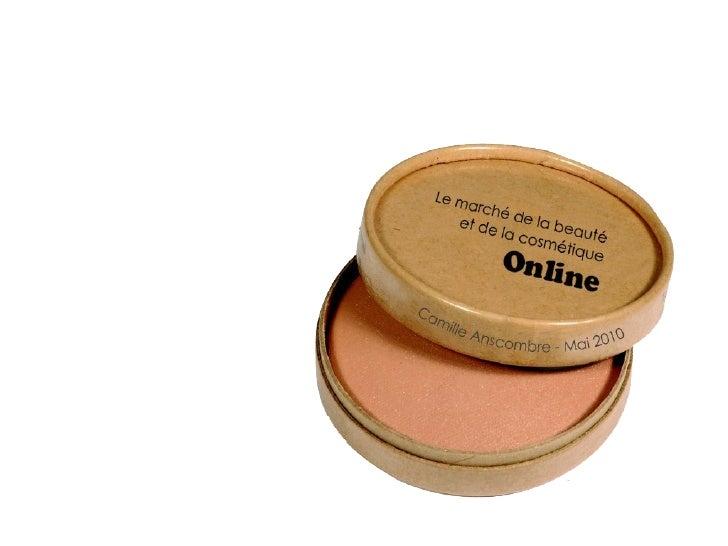 Etude marché cosmétiques