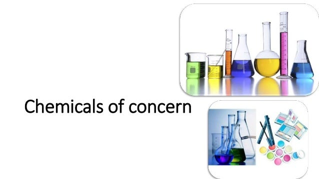 Chemicals of concern