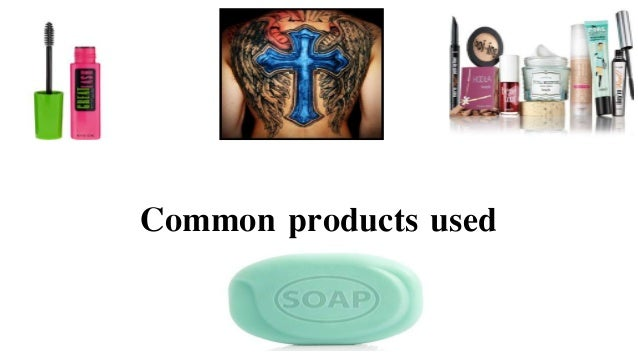 Common products used