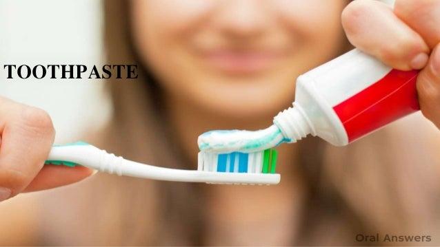 toothpaste TOOTHPASTE