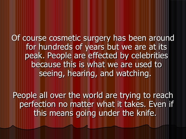 7 Negative Side Effects of Plastic Surgery