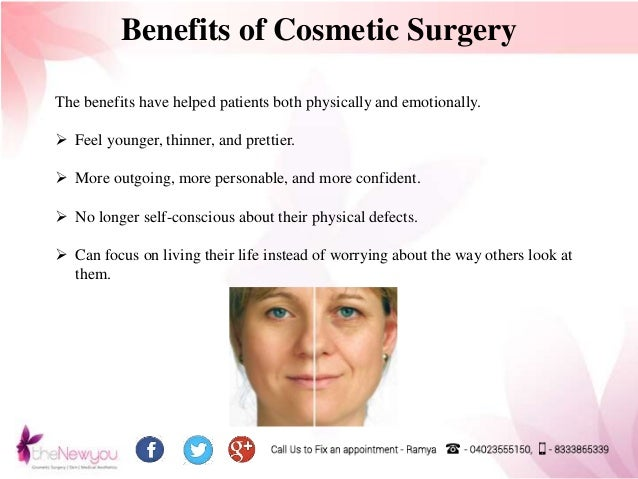 plastic surgery benefits essay Risks and benefits of plastic surgery essay - risks and benefits of plastic surgery plastic surgery is a growing entity which needs to be assessed more carefully messages within the media indirectly contribute to the rising rate of plastic surgery.