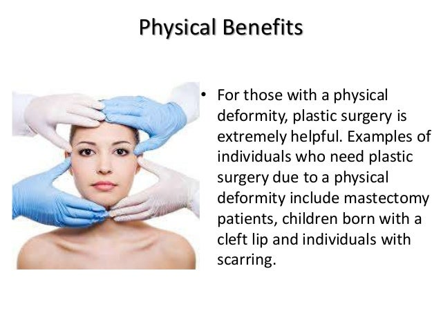 The impact on plastic surgery