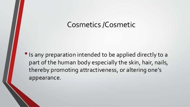 Cosmetology Slide 2