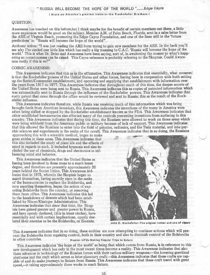 Edgar Cayce Virginia Beach Predictions
