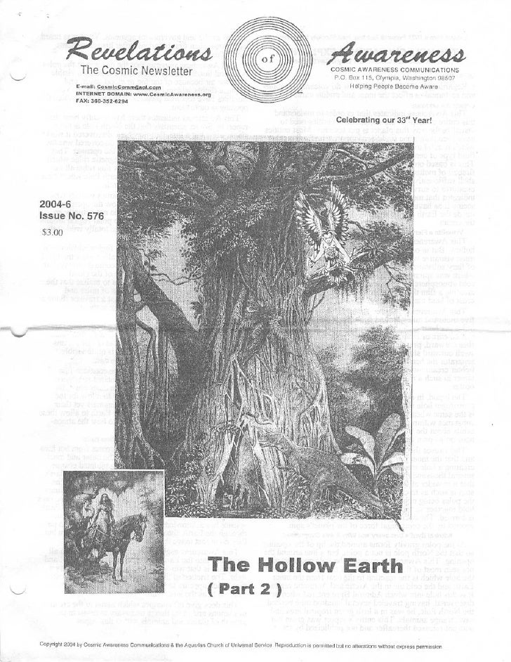 Cosmic Awareness 2004-06: The Hollow Earth (Part 2)