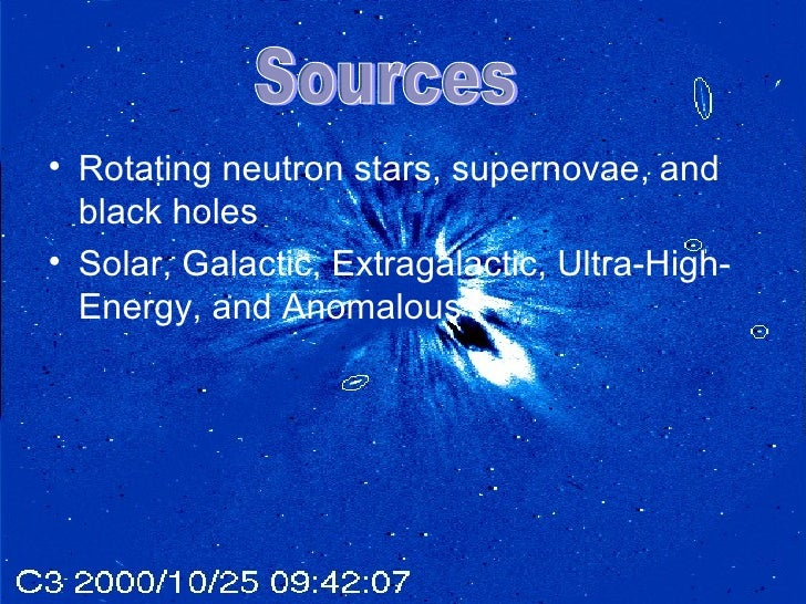 Cosmic Ray Presentation
