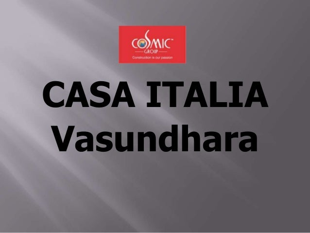 CASA ITALIA Vasundhara