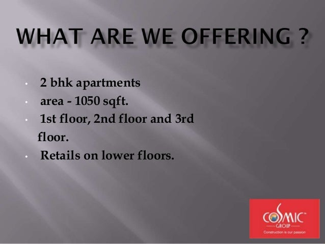• Corner apartments on every floor available with us. • Rs 500 psf innaugral discount. • Unbeleivable prices • Additional ...