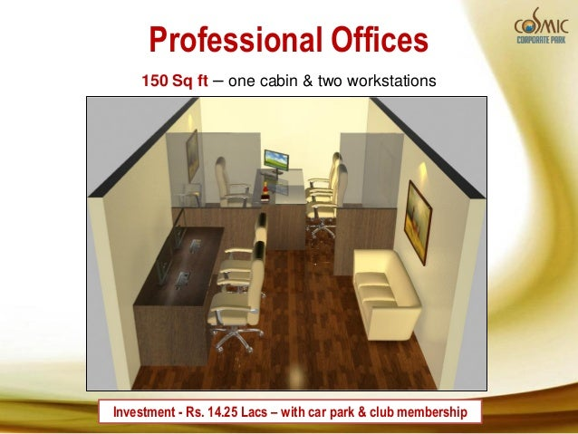 Cosmic corporate park 2 noida sec 140 for 100 square foot office layout