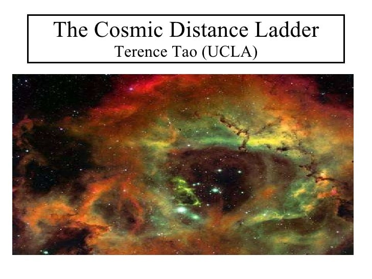 The Cosmic Distance Ladder Terence Tao (UCLA)