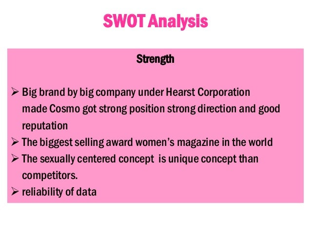 swot analysis of marie claire Ebscohost serves thousands of libraries with premium essays, articles and other content including claire's stores, inc swot analysis get access to over 12 million.