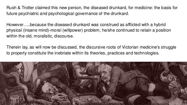 DR COSMO DUFF GORDON - FROM THE DRUNKARD TO THE ALCOHOLIC