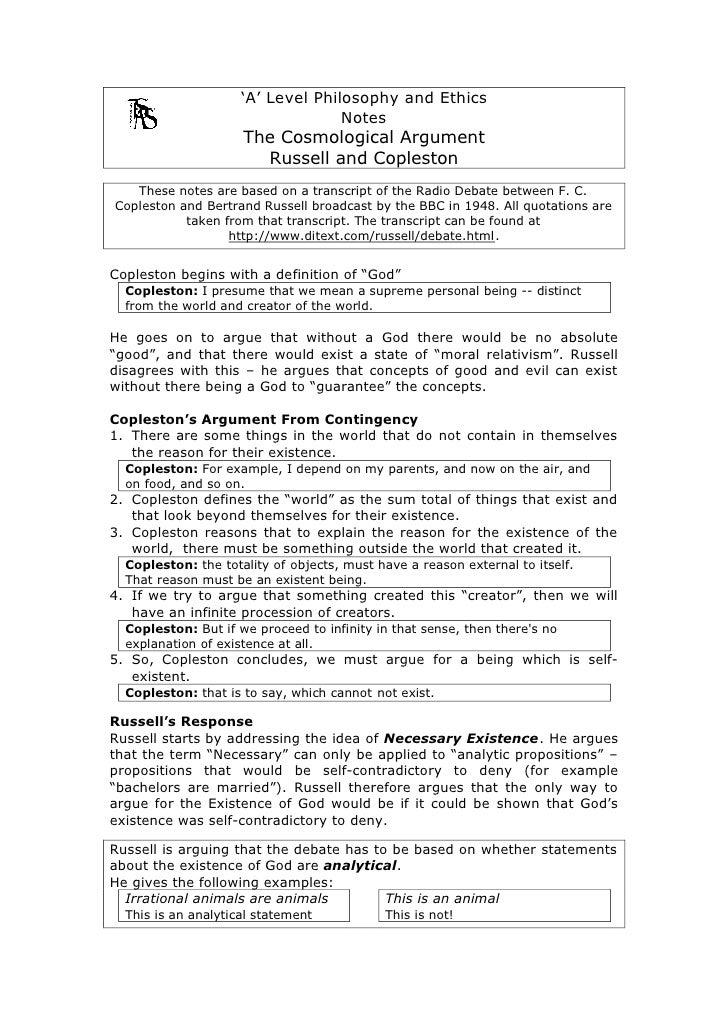 U0027Au0027 Level Philosophy And Ethics Notes ...