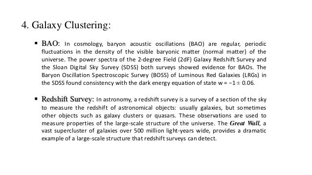 Cosmological parameter