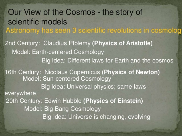 an introduction to the various models of the universe aristotle 107 the standard model of high-energy physics 10-8 108 the  after a brief  introduction to the concept of the scientific method, which underpins all scientific  approaches to the study of the universe, the first part of the book describes the.