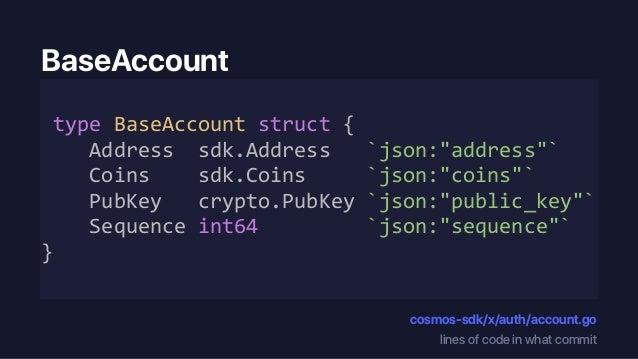 Code Run of the Cosmos SDK