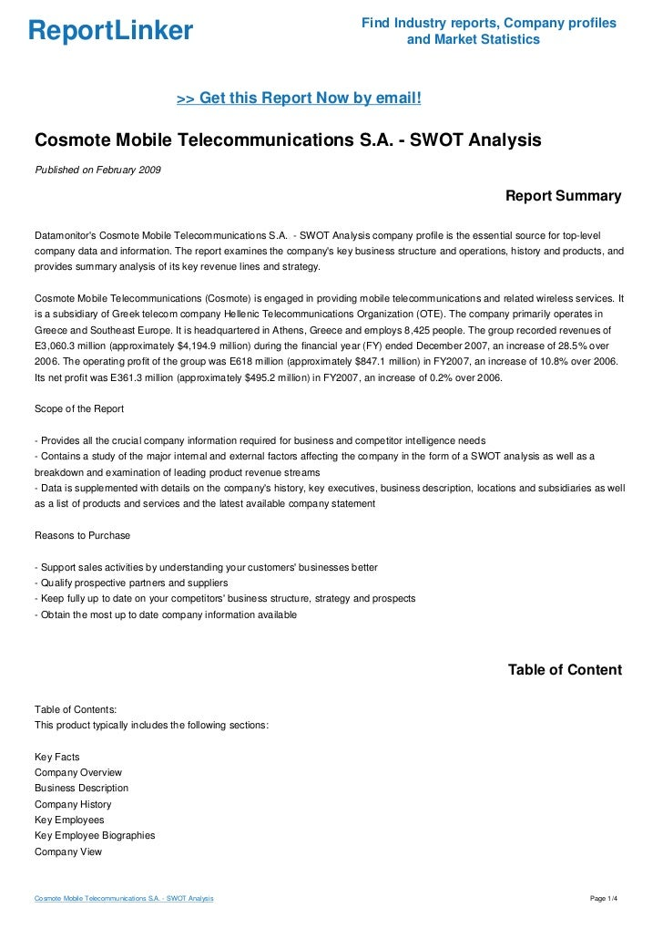 swot analysis for mobile phone company Apple iphone 6 swot analysis, usp & competitors total reads: 8659 advertisements swot analysis of apple iphone 6 with usp, competition, stp (segmentation, targeting, positioning) - marketing analysis apple iphone 6 parent company apple category mobile phone handsets sector.