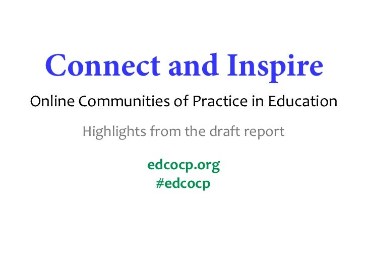 Connect and InspireOnline