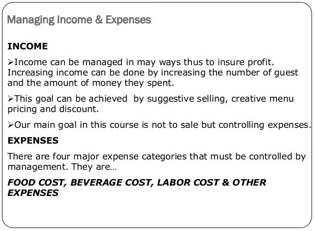 beverage cost definition