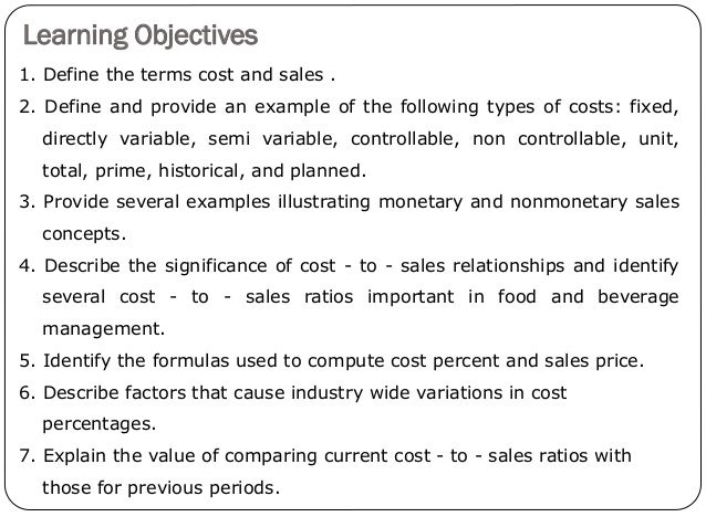 an analysis and control of production cost Theory of production:  cost curves appropriate for long-run analysis are more varied in shape than short-run cost curves and fall into three broad.